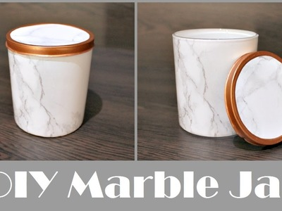 DIY Marble Jar   MOTHER'S DAY DIY