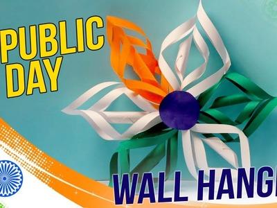 DIY Republic Day Wall Hanging : Easy To Make Decor- Craft Basket