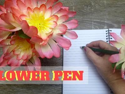 Easy to Make Flower Pen - 2 Minute Gift Idea