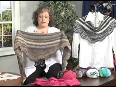 Focus on Fiber with Ginger Balch: Abyssal Shawl
