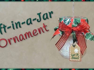 Gift-in-a-Jar Ornament