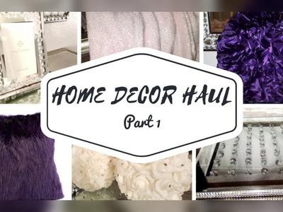 Home Decor Haul: Part 1????Marshalls, Homegoods, Burlington