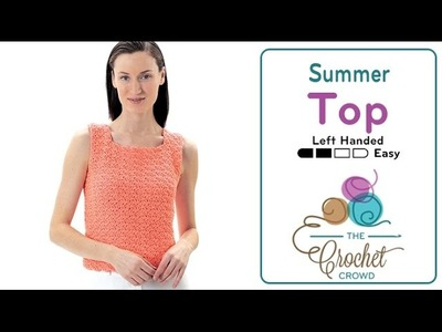 How to Crochet A Top: Summer Top