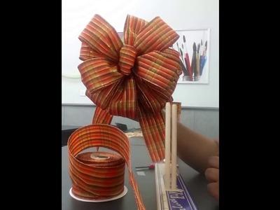 How to Make a Bow | DIY | Tutorial