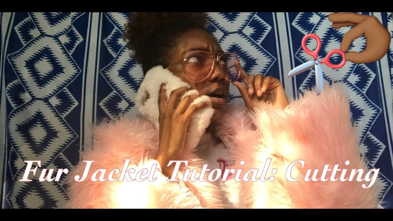 How to make a FUR COAT Part 1 : Cutting it up