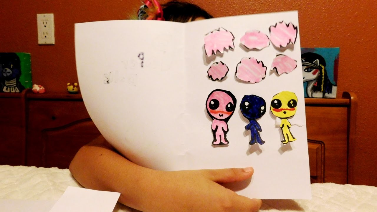 How to Make a Paper Doll Set - Toy Toons