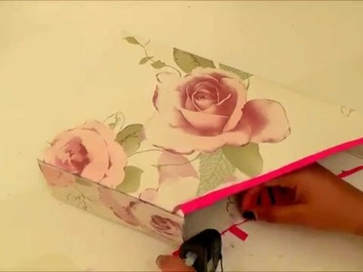 How to make a paper holder