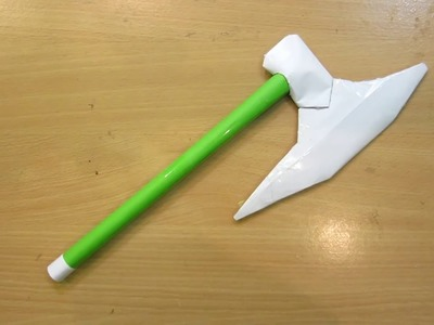 How to make a paper Tomahawk battle Axe - Easy.