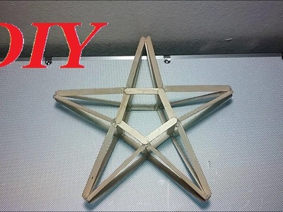 How to make a popsicle stick STAR