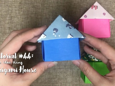How to Make DIY Origami House? | The Idea King Tutorial #44