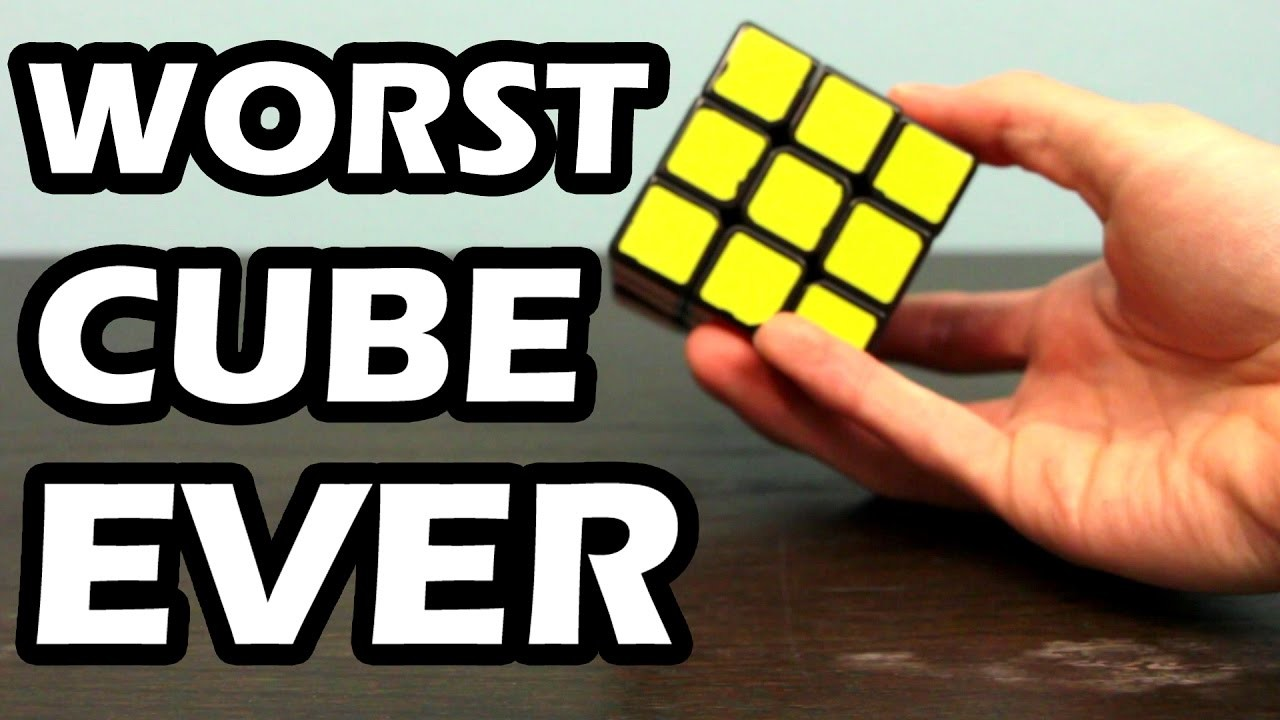 How to Make the Worst Rubik's Cube Ever