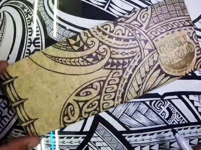 John Alefaio Timelapse Drawing on Green Banana Paper Wallet
