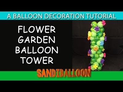 Linky Flower Balloon Column