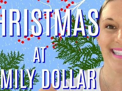 *LIVE* CHRISTMAS AT FAMILY DOLLAR | CHRISTMAS DECOR, $5 GIFT SETS & MORE!!