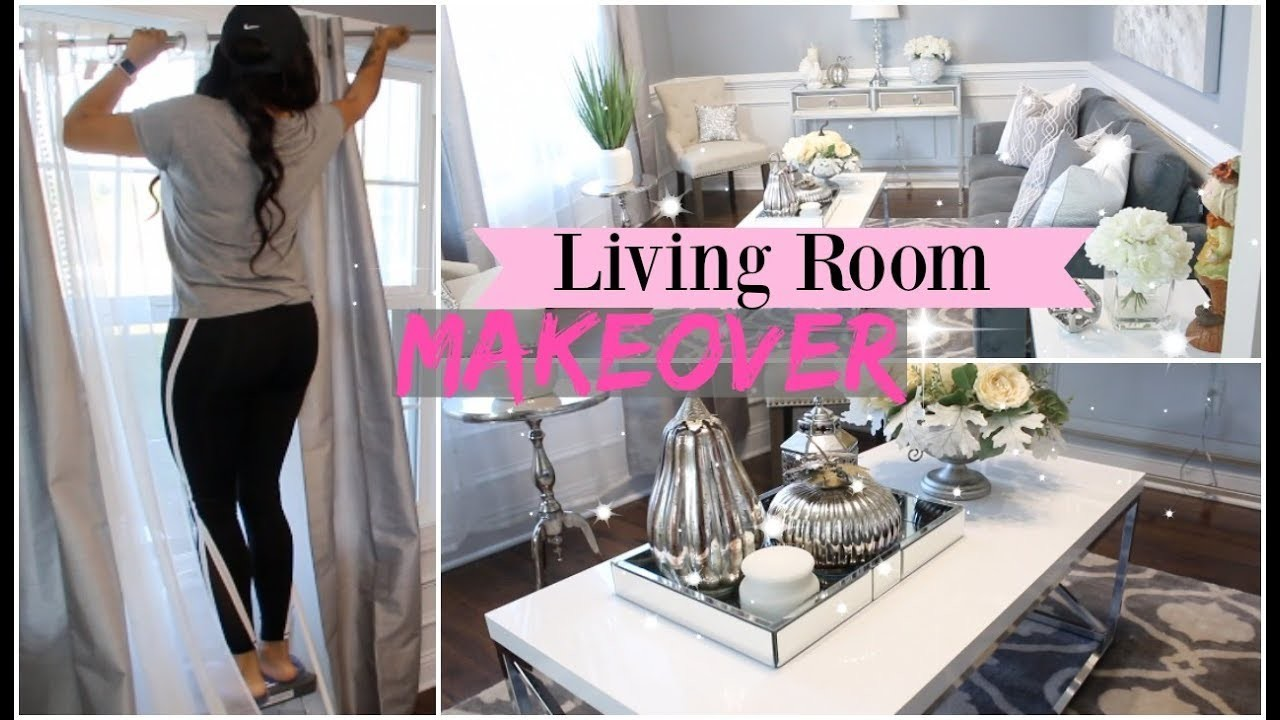 LIVING ROOM MAKEOVER. JASMINMAKEUP1