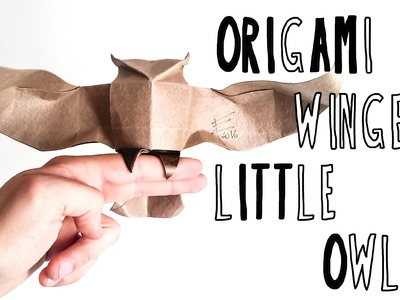 Origami Little Owl (Riccardo Foschi) - Part 1: Precreasing and Collapsing