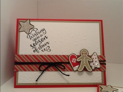 Quick and Easy Christmas Card #5