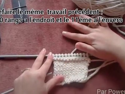Tricoter votre bandeau EASY