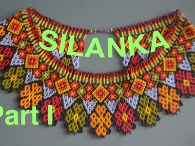 35: 1.2 SYLANKA beaded necklace! Enjoy beading the beauty!