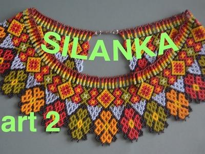 35: 2nd part Final - Sylanka beaded necklace! Enjoy beading the beauty!
