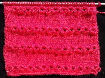 Beautiful Knitting Pattern for Cardigan (Hindi)
