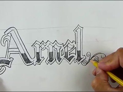 Calligraphy Lessons - Decorate your name