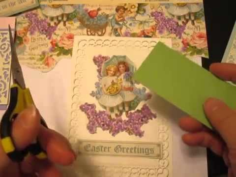 Card Making: Fussy Cutting Technique Using Graphic 45 Pattern Paper