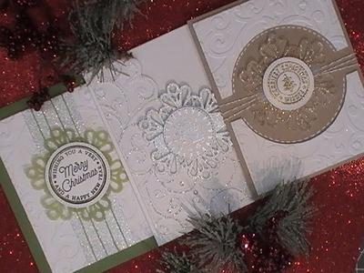 Countdown 2 Christmas Series. 2017. Hero Arts Holiday Badges & Snowflake Tag. C&CT