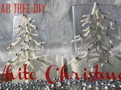 DIY DOLLAR TREE ELAGANT WHITE CHRISTMAS DECOR   GIFT IDEA