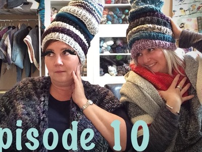 Episode 10:  All the hats, more shawls, KAL Winners and a new KAL