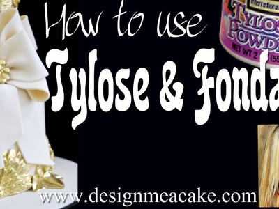 Fondant & Tylose- Learn to fix your fondant.