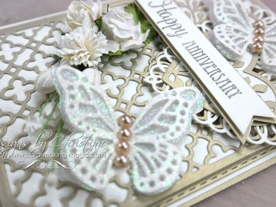 Gold and Cream Card & Box - Love and Marriage Additions