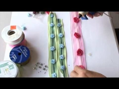 How To Decorate Ribbon In Five Minutes