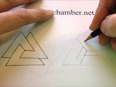 How to Draw Celtic Patterns 121 - Odins Triangle 3of3