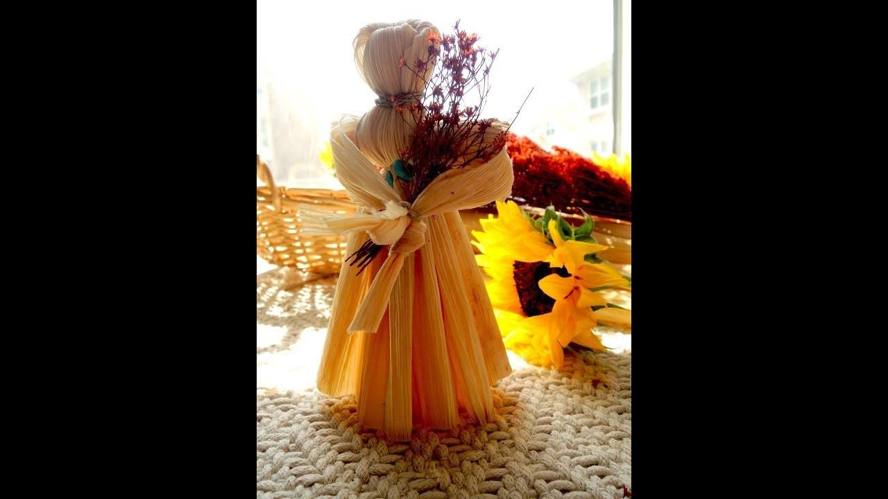 How to Make a Corn Husk Doll