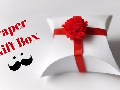 How To Make A Gift Box Out Of Paper Easy