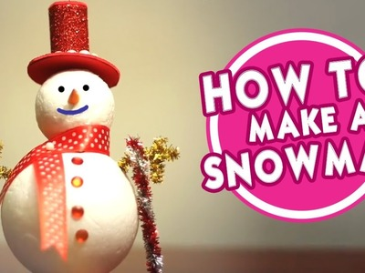 How To Make A Snow Man. Snowman | Christmas Day Decoration | Easy DIY Videos For Kids | Cool Kids