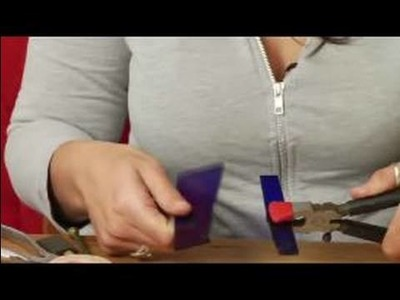 How to Make Art Out of Stained Glass : How to Break Glass for Stained-Glass Projects