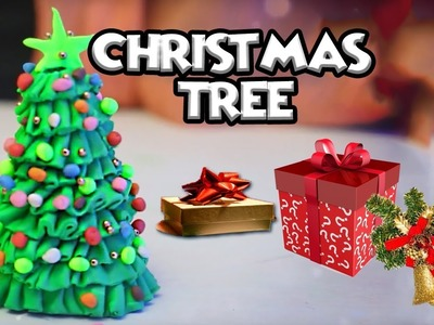 How To Make Christmas Tree With Clay | Christmas Decoration Ideas | Clay Modelling | Cool Kids
