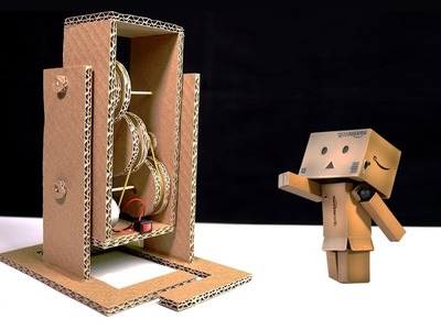 How To Make Walking Robot from CardBoard DIY Simple At Home