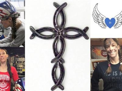 How To Weld A Horseshoe Cross