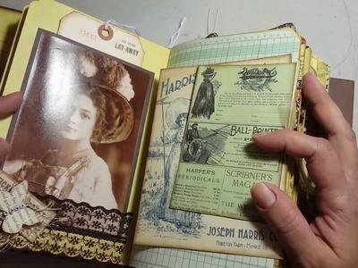 Jane Austen Vintage Junk Journal