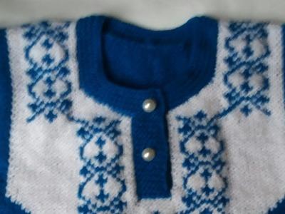 Knitting for beginners #10 ( Round neck knitting)