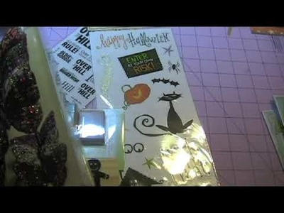 Mini scrapbook Haul from Michaels and Hobby Lobby