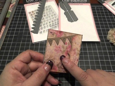 New Paper Stacks at Michaels, MFT Haul and Mini Brag Book Project.Tutorial
