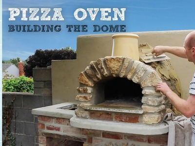 Outdoor Kitchen and Pizza Oven 5.0   Building and Insulating the Dome