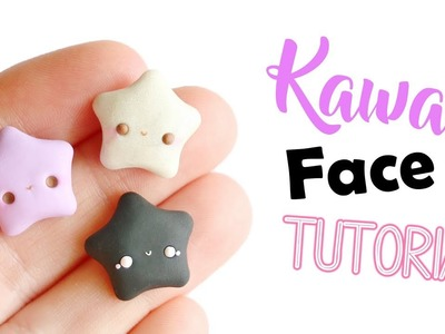 Polymer Clay Kawaii Face Tutorial