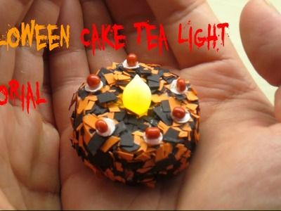 [Tea Light Cakes + DIY] Easy To Make Halloween Tea Light Cakes