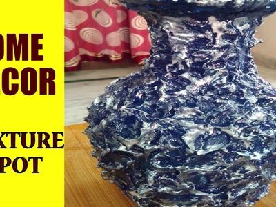 Texture Pot. Home Decor.