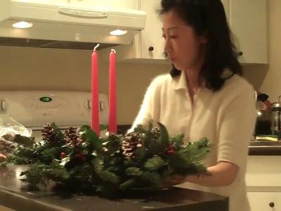 Tomoko's Kitchen  Holiday Centerpiece